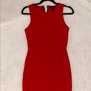 Forever 21 Red Mini Dress - Size XS/S